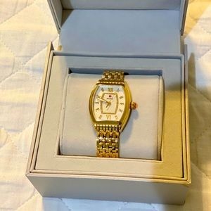 Michele Relevé Diamond Dial Watch